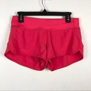 lululemon athletica Shorts - Lululemon pink lightweight Speed running shorts